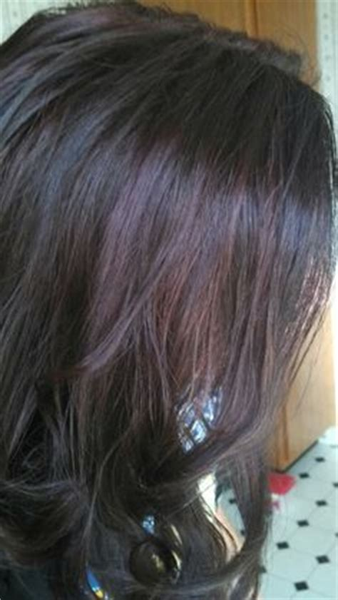 cherry coke hair color formula add depth by keeping the base darker 3n 4ag 20 vol