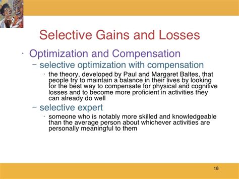 Selective Optimization With Compensation Essay by Berger Ls 7e Ch 21