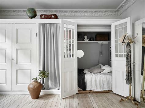 creative sleeping areas  open plan homes