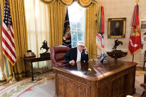 trump redesign oval office these photos of past presidential desks seem to prove