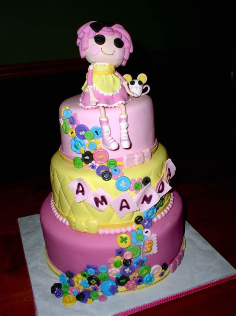 lalaloopsy cakes decoration ideas  birthday cakes