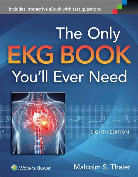 Pdf The Only Ekg Book You Will Need by The Only Ekg Book You Ll Need 8e 2015 Pdf