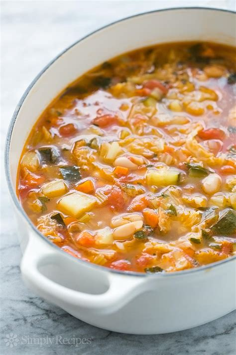 minestrone soup recipe simplyrecipes com