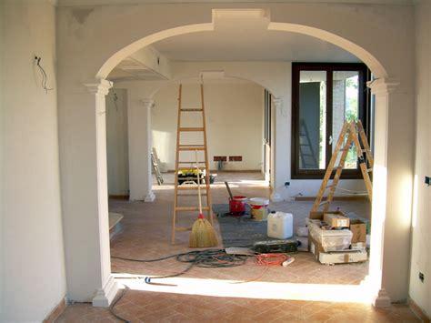 arco in casa foto doppio arco in open space di decorgessi 45496
