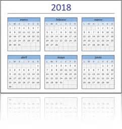 Calendario Anual 2018 Calendario 2018 En Excel Listo Para Imprimir Excel Total
