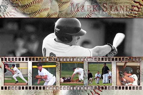sports photo templates templates unlimited by artisticaction baseball and