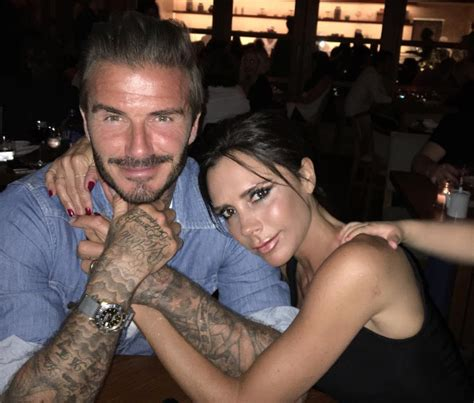 romeo beckham lookism david beckham writes sweet tribute to wife victoria for