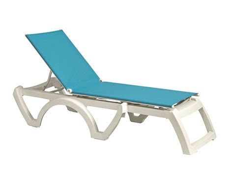 Calypso Sling Chaise Lounge Chair by Grosfillex