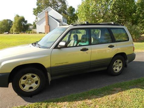 how to sell used cars 2001 subaru forester on board diagnostic system sell used 2001 subaru forester awd good on gas commuter in jewett city connecticut united