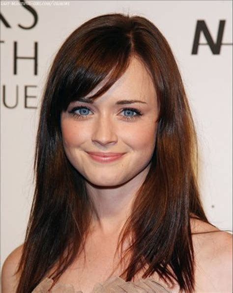 alexis bledel face shape alexis bledel hairstyle 06 fresh look celebrity hairstyles