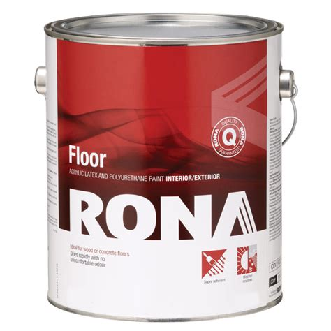 eco floor paint rona