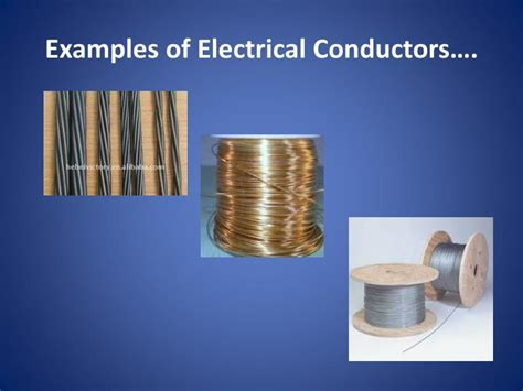 electrical conductors include ppt study powerpoint presentation id 2526074