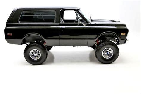Jimmy Black 1972 gmc jimmy black 4wd black interior american