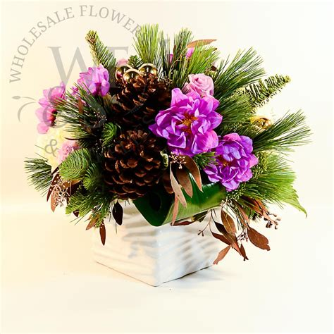 floral arrangement supplies christmas arrangement 01 wholesale flowers and supplies