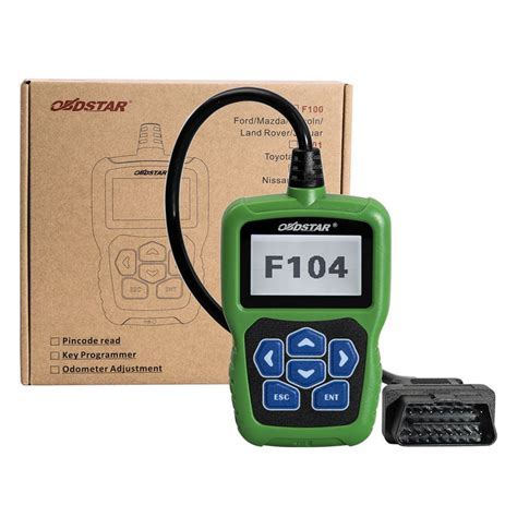 obdstar f104 chrysler jeep dodge pin code reader and key