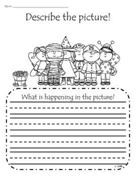 precision pattern works columbus in fall themed adding details and sentence writing practice