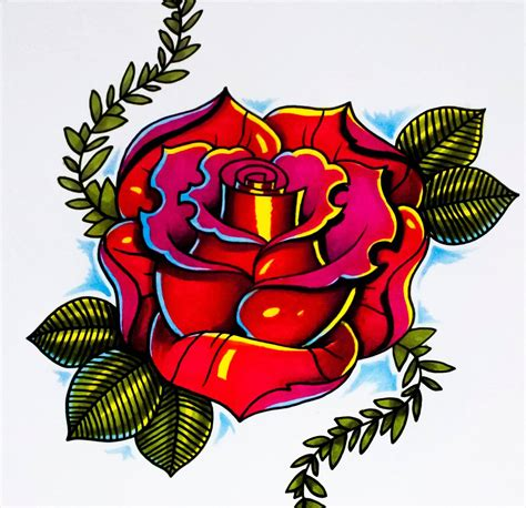 rose tattoo clipart 3 roses clipart best