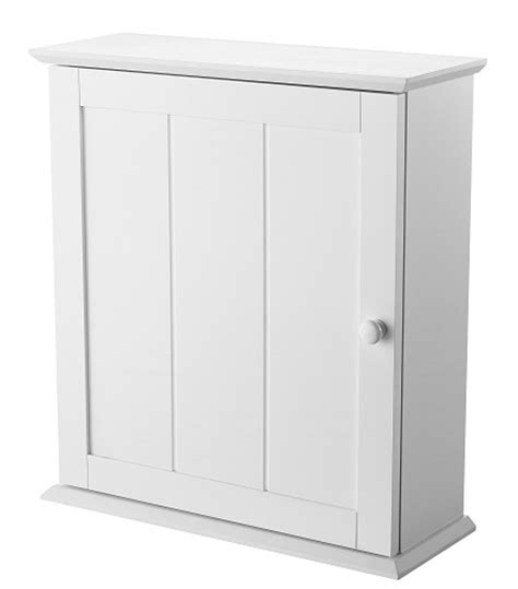 showerdrape oakland white wood single wall cabinet ebay