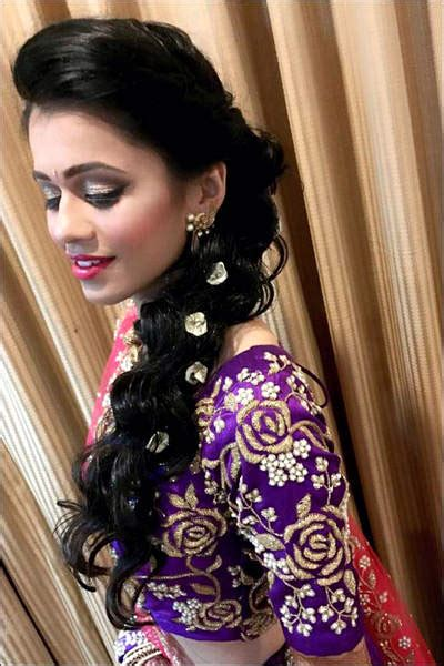Indian Wedding Hairstyles For Thin Hair by Indian Wedding Bridal Hairstyles That Make You More Than