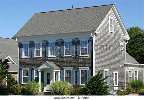 shingle house cape cod stock photos shingle house cape