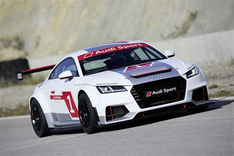 Audi Tt Race Car Looks Sweet W Video Carscoops