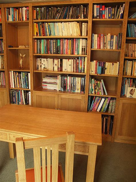study table and bookshelf american hwy
