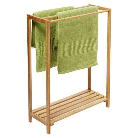 Bathroom Towel Rack Ideas by Stylish Free Standing Towel Racks For Outstanding Bathroom