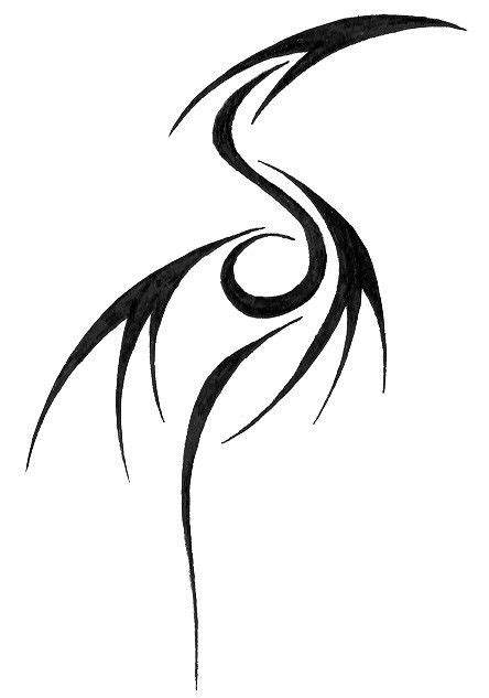 simple dragon tattoo designs 25 best ideas about tribal tattoos on