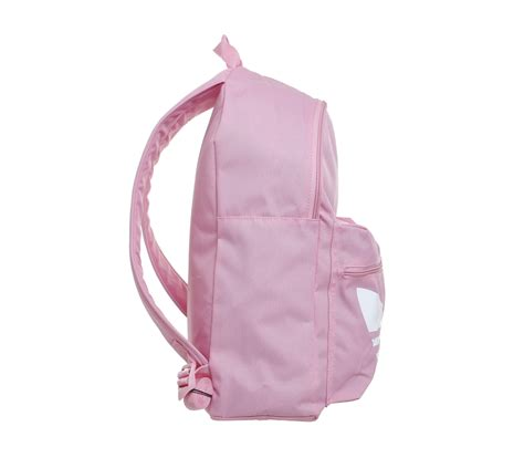 light pink adidas backpack adidas trefoil backpack light pink white accessories