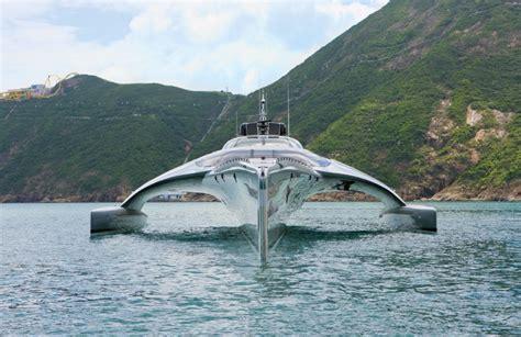 trimaran yacht hong kong first look super yacht adastra hong kong tatler