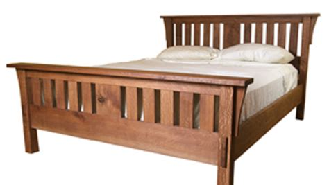 mission style bed build a mission style bed finewoodworking