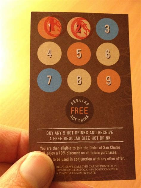 restaurant punch card templates 23 best images about cool paper loyalty cards on