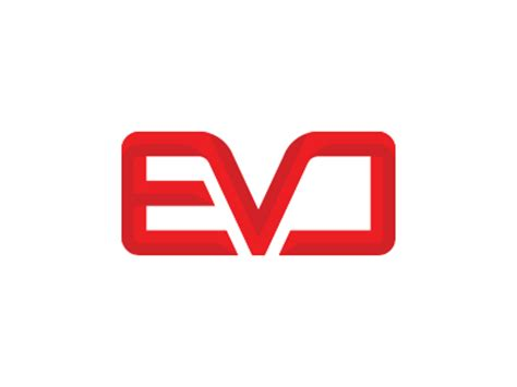 mitsubishi evo logo evo by kyle reese dribbble