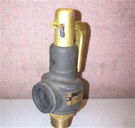 Dresser Safety Relief Valve by New Dresser Brass Safety Relief Valve 1 1 4 Quot 1541 F