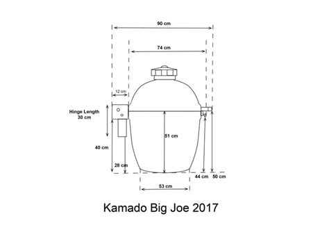 kamado joe stand alone dimensions kamado joe big joe 2017 model ceramic barbecue