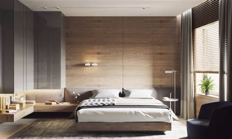 master bedrooms with striking wood panel designs master