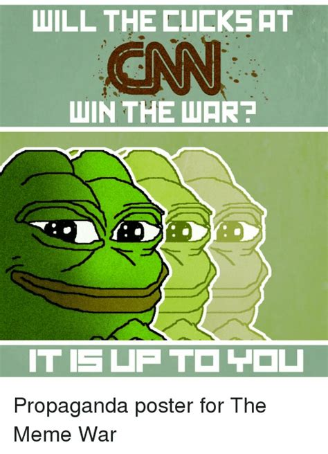 Propaganda Meme - will the cueks ht win the wart 0 meme on sizzle