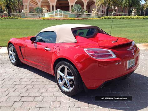 saturn sky coupe 2009 saturn sky red line related infomation specifications