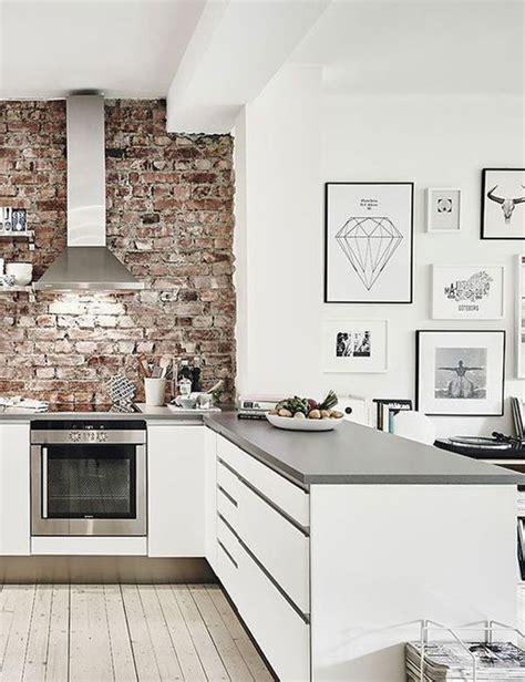 Brick Wall In Kitchen by 10 Charming Brick Wall Kitchen Designs