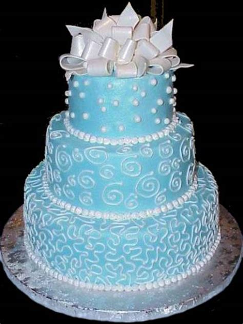 Wedding Cake Blue by Blue Wedding Cakes With Simple Ideas