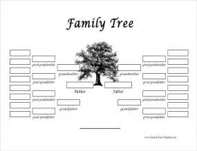 genealogy tree template family tree template 31 free printable word excel pdf