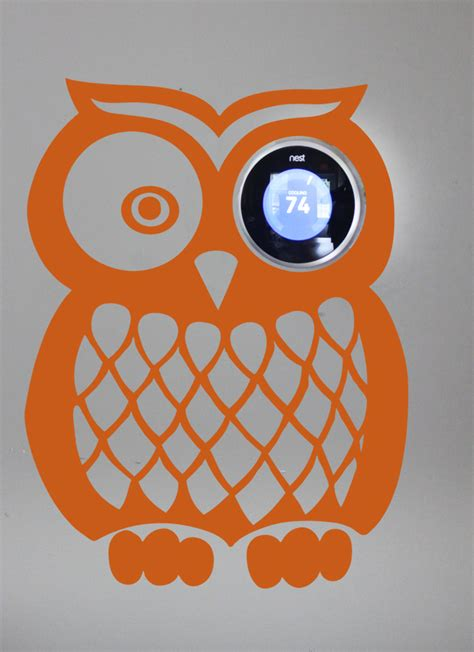 wallsticker owl speda nest owl wall decal trading phrases