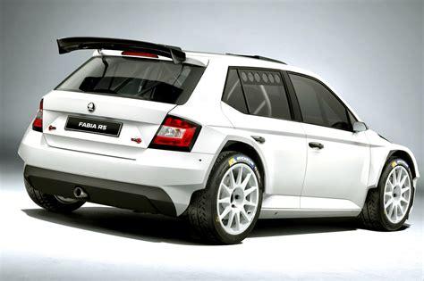 sports car skoda fabia 3 nj r5 2015 2016 is presented as