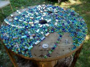 mosaik vorlagen tisch gartentisch aus mosaik 30 modelle archzine net