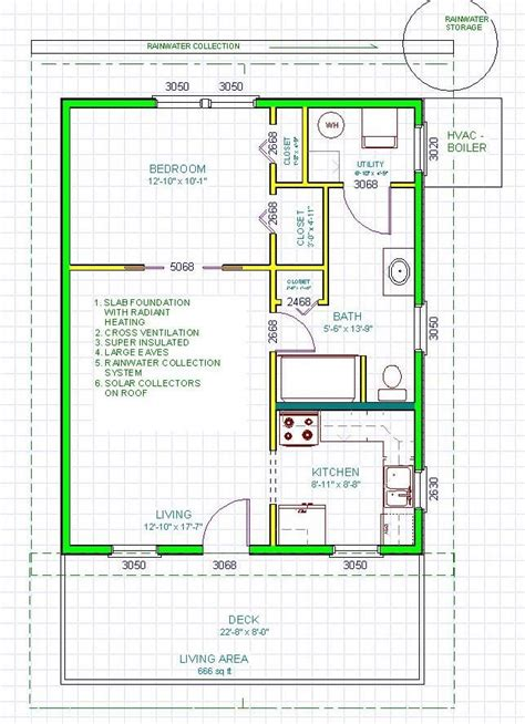 sip home floor plans kokoon homes sip kit pod 660 floor plan 18 557 small