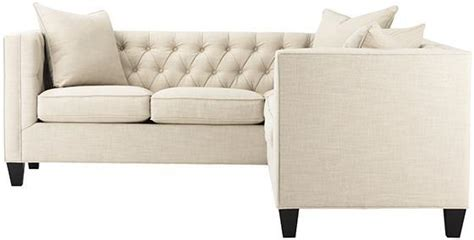 Lakewood Tufted Sectional Sofas From Home Decorators Lakewood Tufted Sofa