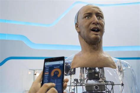 robot hong kong film reuters piece on han in hong kong electronics fair