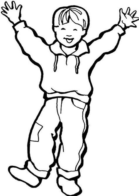 Coloring Pages A Boy | free printable boy coloring pages for kids