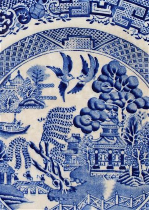 willow pattern english china antique blue and white china patterns my web value