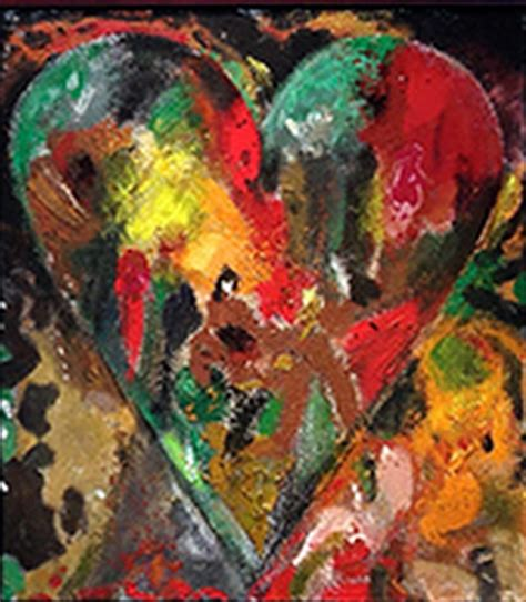 imagenes de corazones abstractos cuadros modernos pinturas y dibujos el coraz 243 n del arte